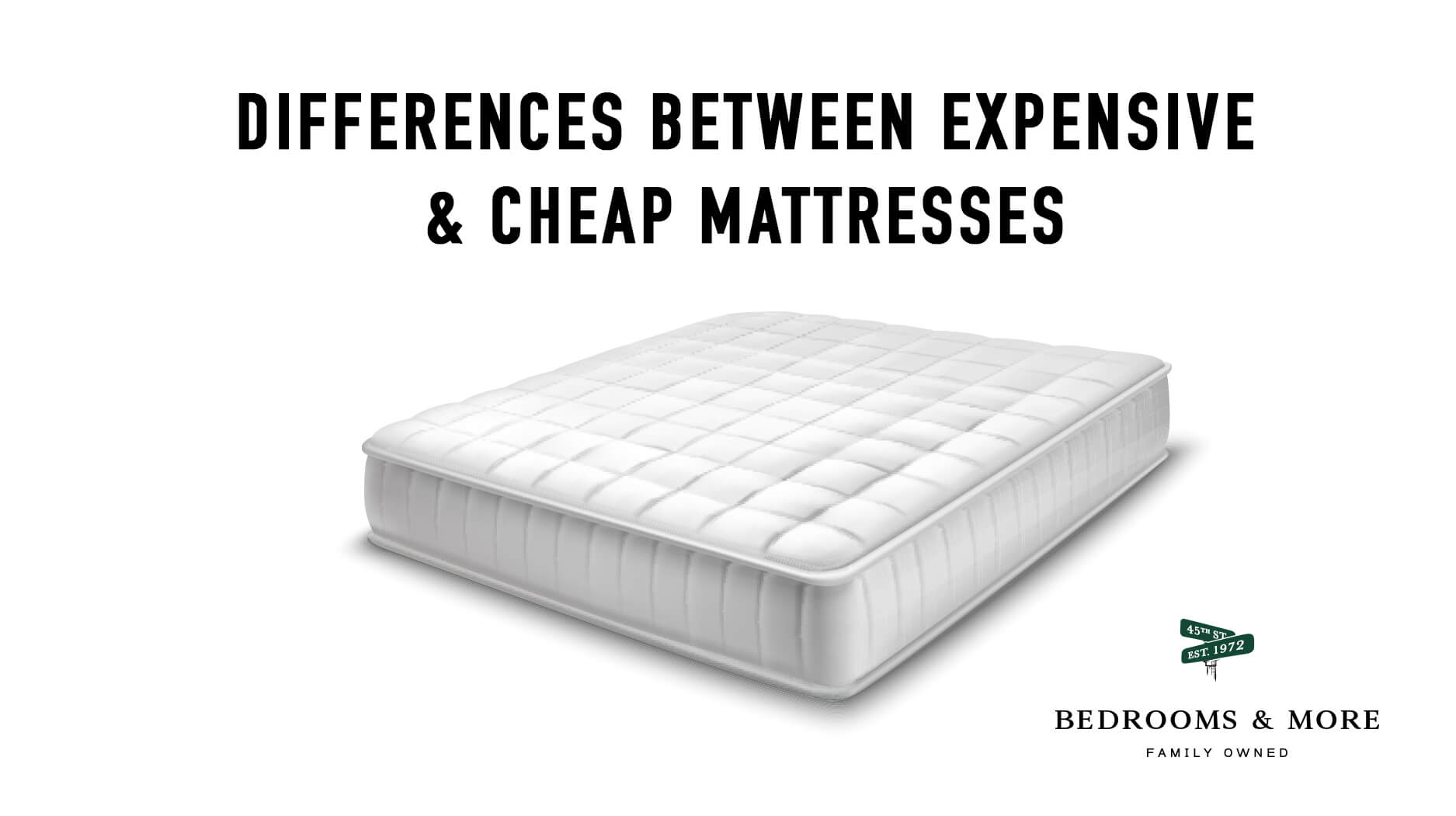 Difference Between Expensive Mattresses & Cheap Mattresses