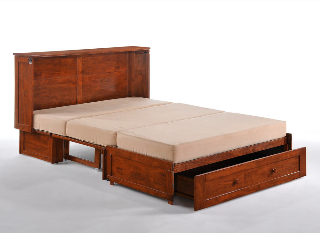 Clover Murphy Cabinet Bed in Cherry