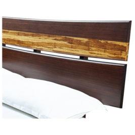Azara Platform Bed Headboard Detail