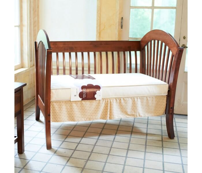 Classic 150 Organic Crib Mattress Lifestyle