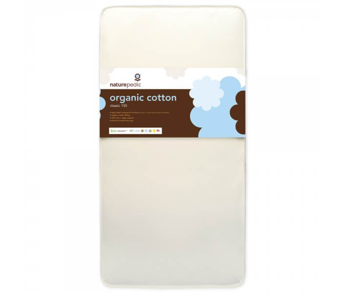 Classic 150 Organic Crib Mattress Up