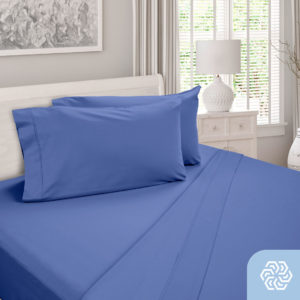 DreamCool 100% Egyptian Cotton Blue