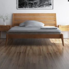Sienna Complete Bed in Caramelized Finish