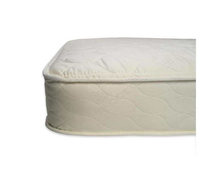 Quilted Deluxe 252 Crib Mattress Close