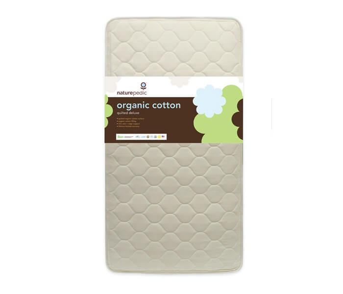 Quilted Deluxe 252 Crib Mattress Up