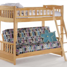 Cinnamon Futon Bunk in Natural