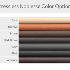 Stressless Noblesse Leather Color Options