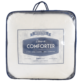 Down Comforter Packaged