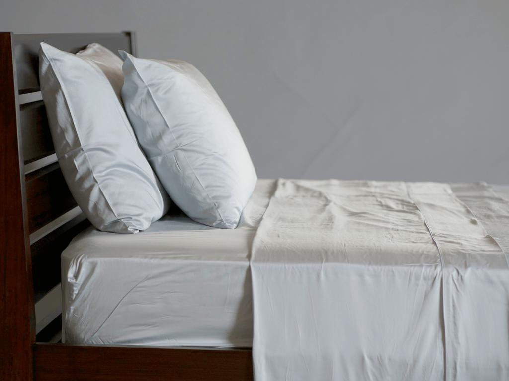 Powder Bamboo Bed Sheets