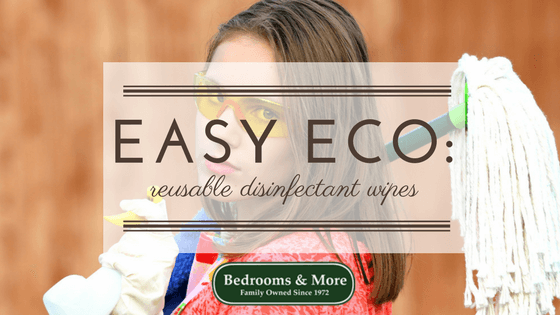 Easy Eco DIY Disinfectant Wipes