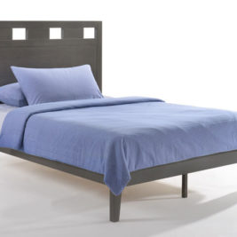 Tamarind Bed in Stonewash