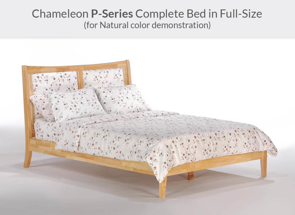 Chameleon Bed Full Natural P-Series