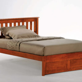 Rosemary K-Series Complete Bed in Cherry