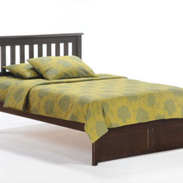 Rosemary K-Series Complete Bed in Dark Chocolate