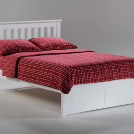 Rosemary K-Series Complete Bed in White