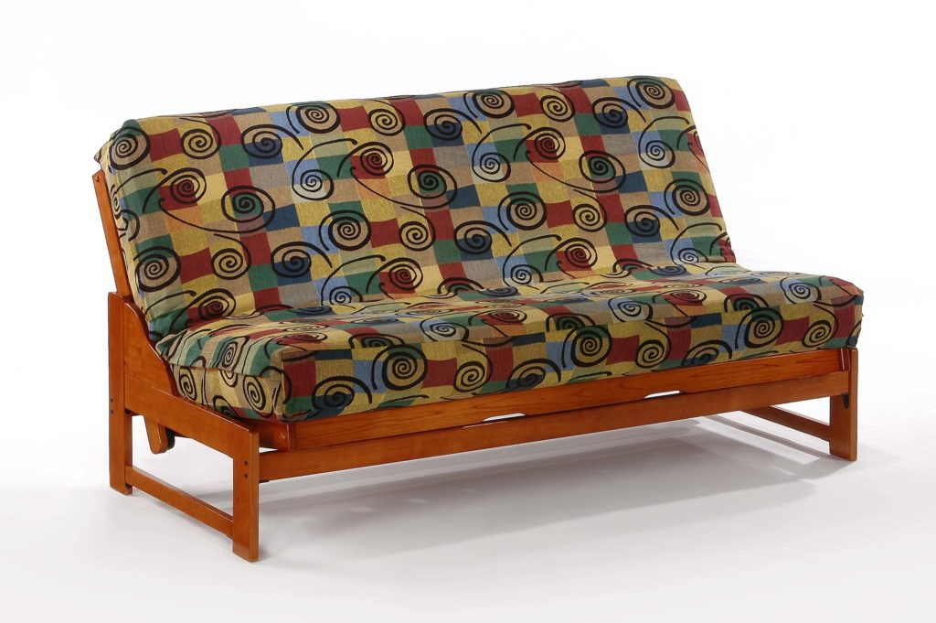 Eureka Futon in Cherry