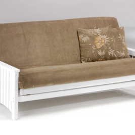 Key West Futon in White