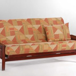 Seattle Futon in Black Walnut