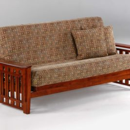 Twilight Futon in Cherry