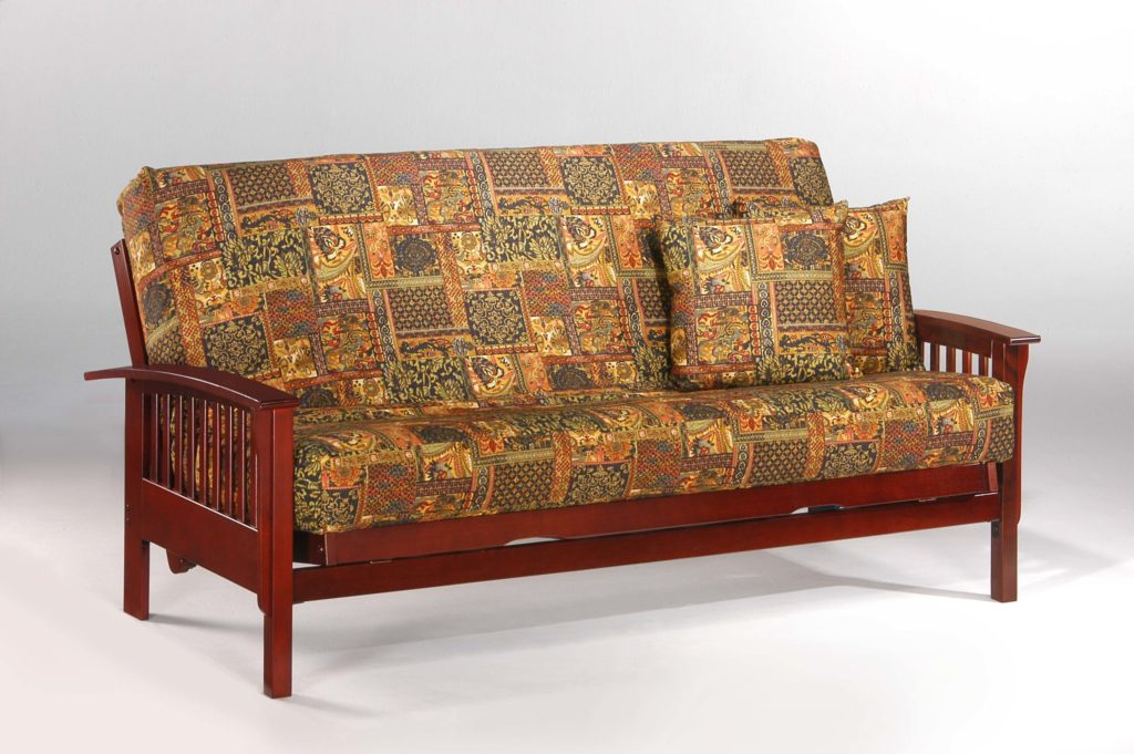 Winchester Futon in Black Walnut