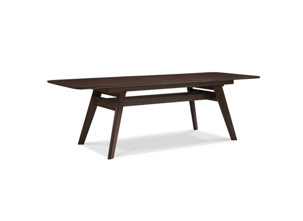 Currant Extension Dining Table in Black Walnut