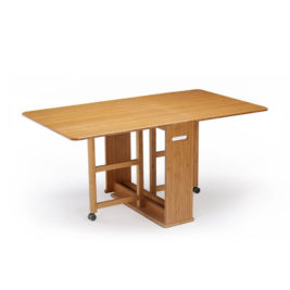Linden Gateleg Dining Table in Caramelized