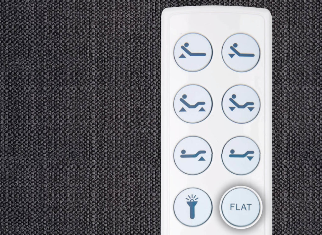 Raven Adjustable Bed Remote