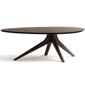 Rosemary Coffee Table in Black Walnut