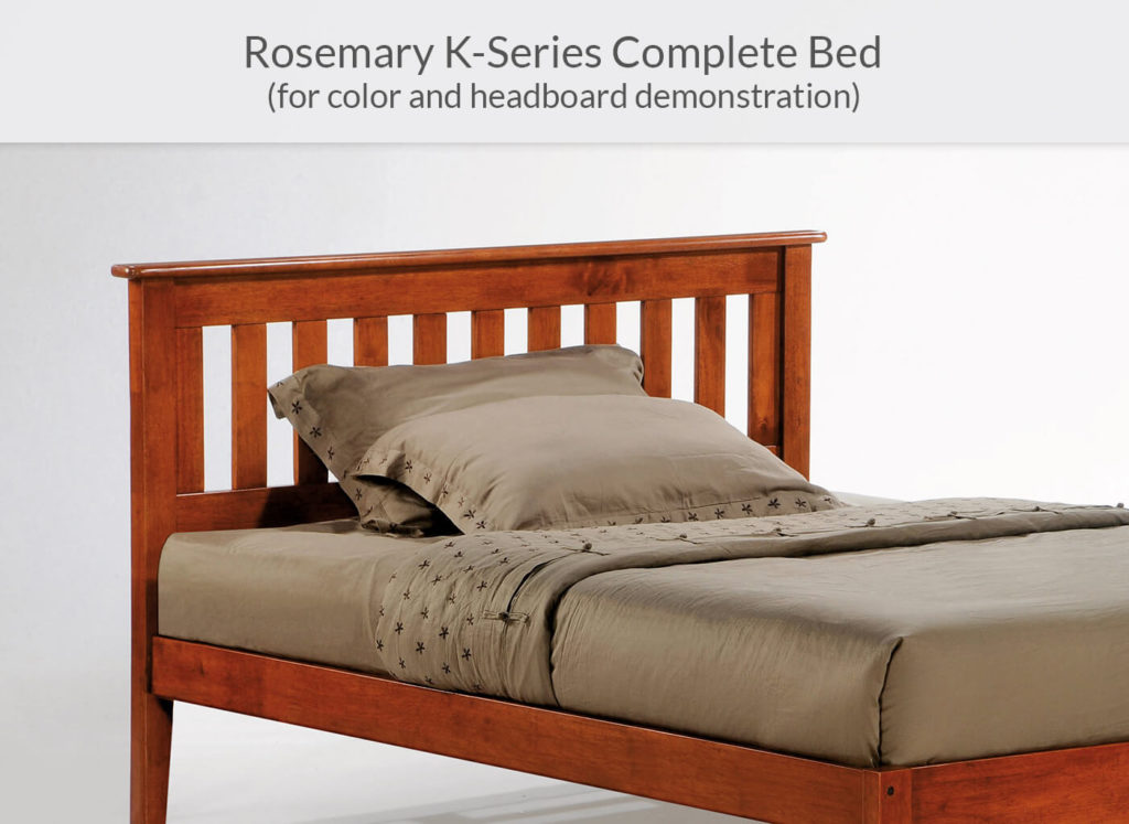 Rosemary P-Series Complete Bed in Cherry