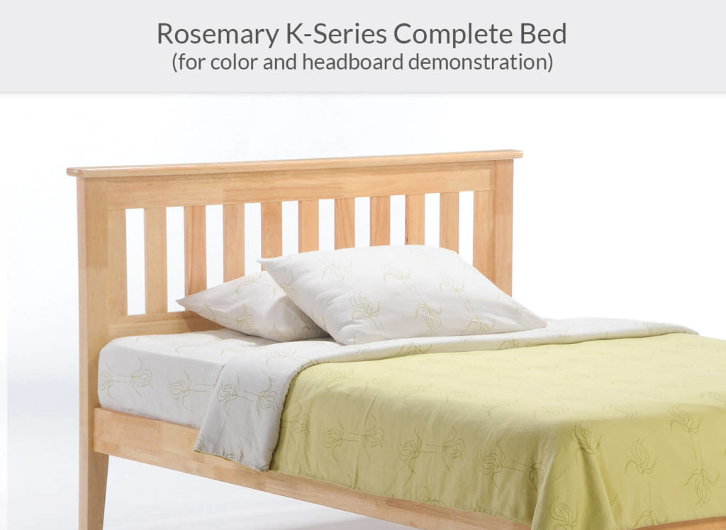 Rosemary P-Series Complete Bed in Natural