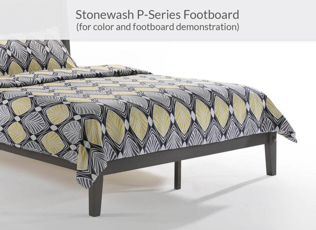 Rosemary P-Series Footboard in Stonewash