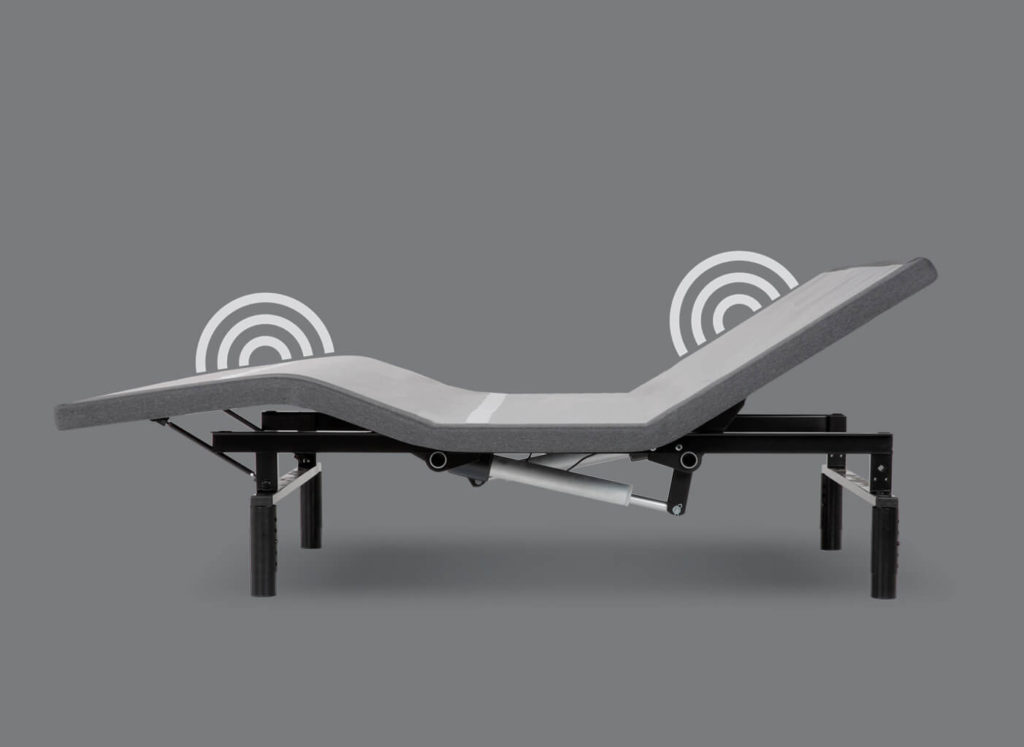 Simplicity 3 Adjustable Bed Dual Massage