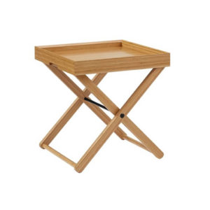 Teline Tray Table in Caramelized