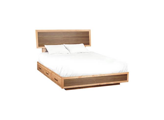 Addison Adjustable Headboard Storage Bed Cal-King