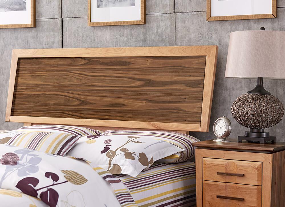 Addison Adjustable Headboard Storage Bedroom Set Lifestyle Detail