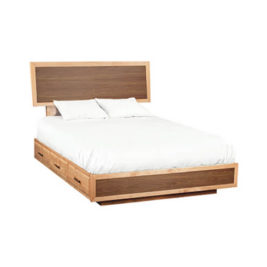 Addison Adjustable Headboard Storage Bed Queen