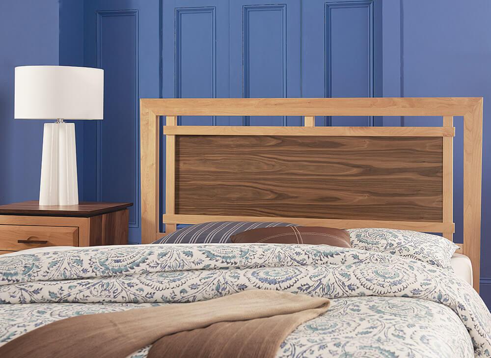 Addison Panel Storage Bed Lifestyle Headboard Detail