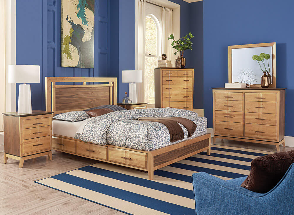 Addison Panel Storage Bedroom Set Lifestyle