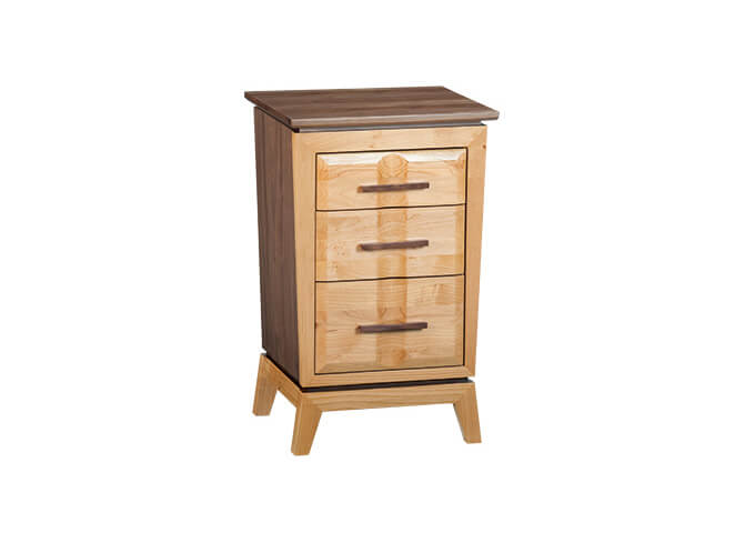 Addison Small 3-Drawer Nightstand