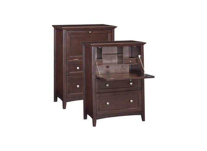 McKenzie Office Chest in Caffe