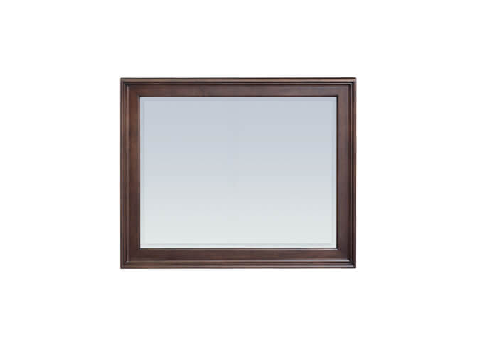 McKenzie Rectangular Mirror in Caffe