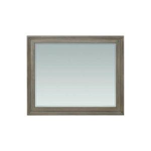 McKenzie Rectangular Mirror in Fieldstone