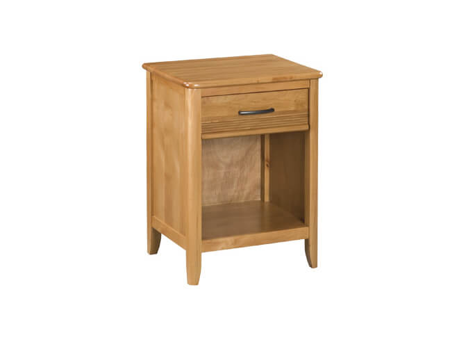 Pacific 1-Drawer Nightstand in Glazed Spice