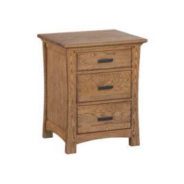 Prairie City 3-Drawer Dresser in Light Oak