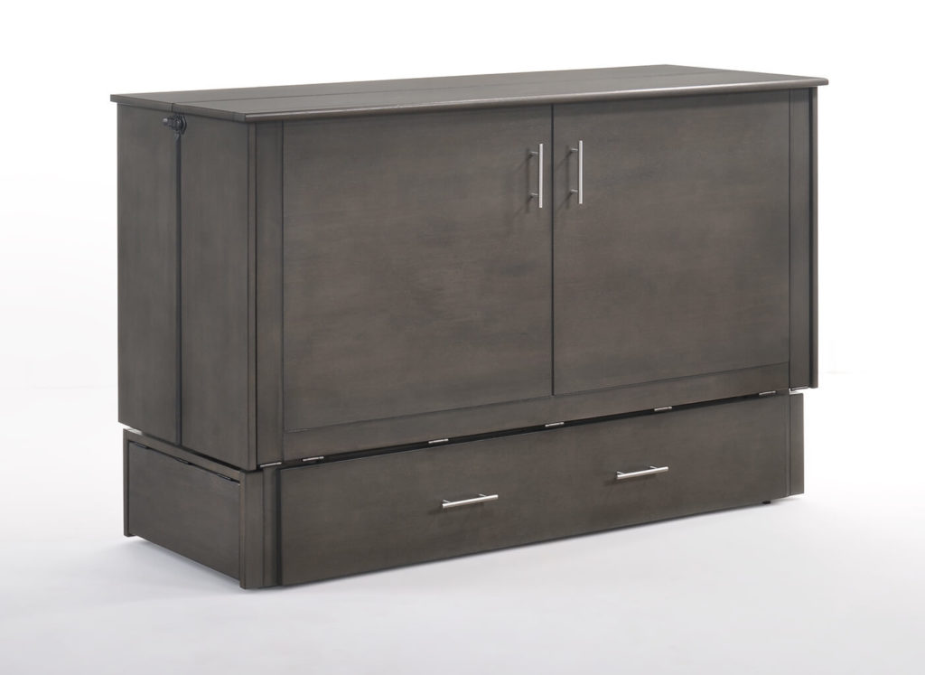 Sagebrush Murphy Cabinet Bed in Stonewash