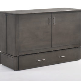 Sagebrush Murphy Cabinet Bed In Stonewash