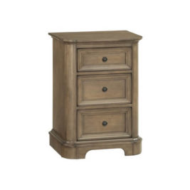 Stonewood Small 3‑Drawer Nightstand