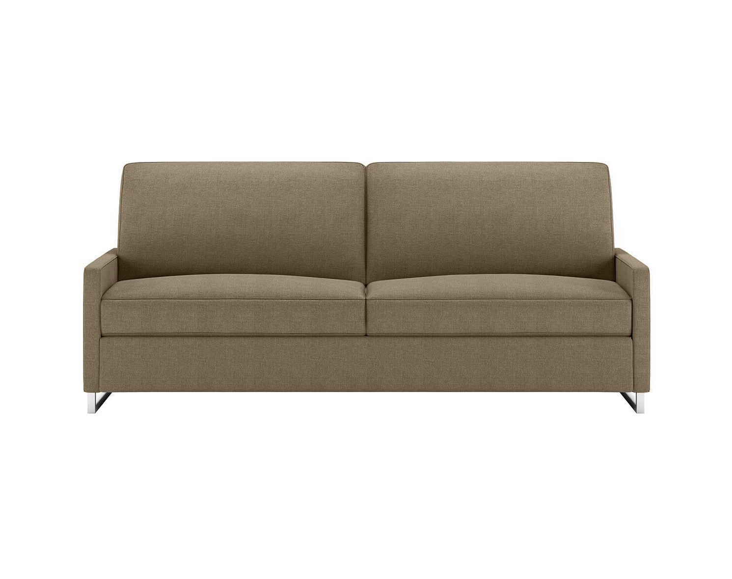 Brandt Space Saving Sleeper Sofa in Stone