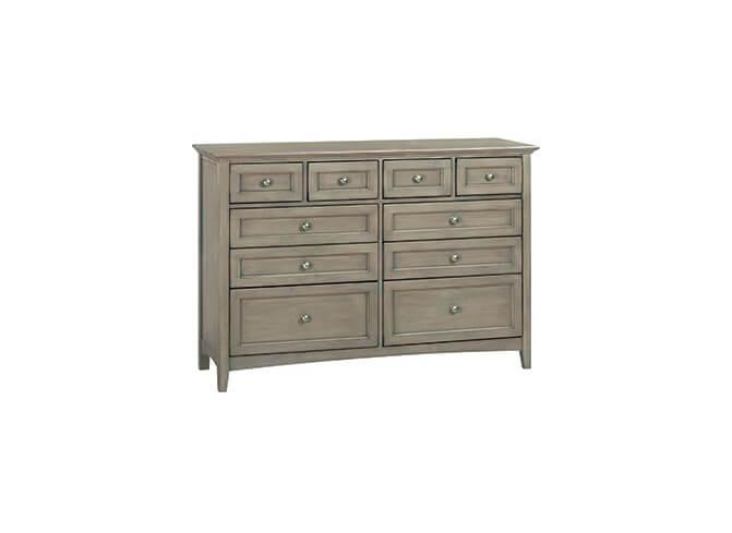 McKenzie 10-Drawer Dresser in Fieldstone