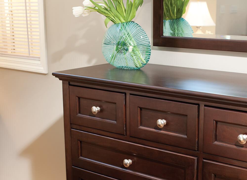 McKenzie 12-Drawer Dresser in Caffe Lifestyle